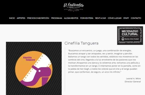 Festivalito Foermentera Flyer 2018 con Mecenazgo